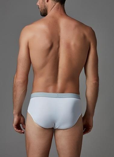 Dagi Micro Modal Slip Beyaz